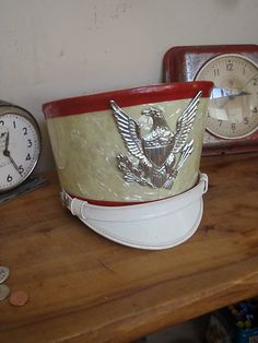 Vintage High School Marching Band Hat  Majorette  Red by lahaine, $25.00 #teampinterest