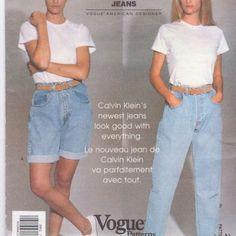 calvin klein vogue 90s #cartonmagazine