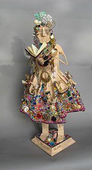 Treasure Island Storyteller. Sculpture by Kathy Ross