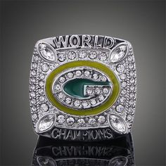 Championship Rings Replica Wisconsin Green Bay Packers Super Bowl MVP Sports Men #TuiNui #CasualSporty
