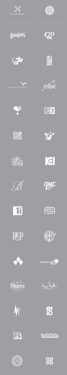 Logos, Symbols, Marks by Manuel Olmo-Rodriguez via blueverticalstudio