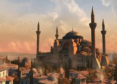 Hagia Sophia is a former Greek Orthodox patriarchal basilica, later an imperial mosque, and now a museum in Istanbul, Turkey. Beautiful Buildings, Beautiful Places, Istanbul Tours, Istanbul Turkey, Hagia Sophia Istanbul, Fall Of Constantinople, 10 Interesting Facts, Assassins Creed, Day Tours