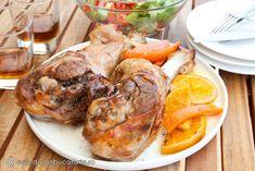PULPA DE CURCAN CU TARHON SI SOS DE PORTOCALE | Diva in bucatarie Turkey, Meat, Food, Turkey Country, Essen, Meals, Yemek, Eten