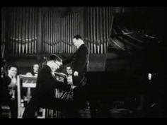 Shostakovich plays his piano concerto - RARE