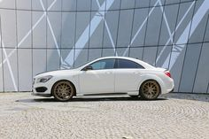 Loewenstein CLA Saphir LM45-410 #Turbo  #Mercedes #Benz #AMG #cars #sportscars #Luxury #cartuning  More Car Tuning >> http://www.motoringexposure.com/aftermarket-tuned/