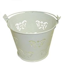 Butterfly Design White Metal Favour Buckets (PACK OF 10) (XMEFABU13) Wedding Accessories and Giftware http://www.amazon.co.uk/dp/B0073D2PF0/ref=cm_sw_r_pi_dp_N5iUwb0YRCK5M