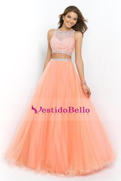 Prom Dresses 2015 Bateau Beaded Bodice A Line Princess Prom Dress Pick Up Tulle Skirt Floor Length , You will find many long prom dresses and gowns from the top formal dress designers and all the dresses are custom made with high quality Princess Prom Dresses, Cute Prom Dresses, Grad Dresses, Dance Dresses, Pretty Dresses, Formal Dresses, Dress Prom, Prom Gowns, Dresses 2016
