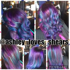 Hair by Ashley Moore @hairvaultsalon  @ashley_loves_shears