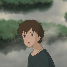 When Marnie Was There, Studio Ghibli Movies, Anime Wallpaper Live, Hayao Miyazaki, Vintage Cartoon, Angel Art, Anime Films, Cute Icons, Animation
