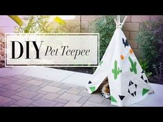 Bring A Little Bit Of Whimsy Into Your Pup's Life With This DIY Dog Teepee - BarkPost