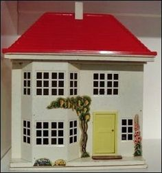 My Dolls House - Vintage Triang No 40 Dolls House - this was the actual one I got for Christmas, aged almost Many years of happy playtime with this. Antique Dollhouse, Antique Dolls, Vintage Dolls, Dollhouse Miniatures, Dolly House, My Doll House, Doll Shop, Old Dolls, Miniature Houses