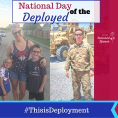 Military spouses share their deployment photos and stories through the campaign, which celebrates the National Day of the Deployed. Military Deployment, Military Spouse, Military Veterans, Military Life, Veterans Discounts, Military Discounts, 36 Weeks Pregnant, Sick Kids, Significant Other