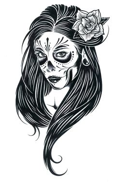 Gorgeous, high contrast vixens and muses from Seattle Art Institute graduate Adam Jaxon.