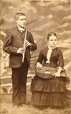 Children with Musical Instruments