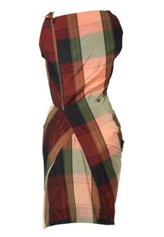 Fond Dress Tartan Vivienne Westwood