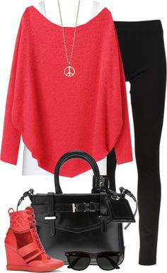 """Wedge Sneakers (II)"" by partywithgatsby on Polyvore"