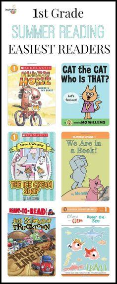 1st Grade Summer Reading List - Easiest Readers | Imagination Soup