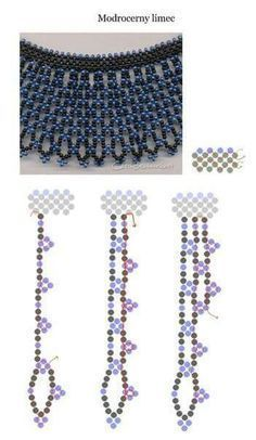 Beste Seed Bead Jewelry 2017 Necklae Schema Seed Bead Tutorials Source by edithfretin Diy Necklace Patterns, Seed Bead Patterns, Beaded Jewelry Patterns, Beading Patterns, Seed Bead Tutorials, Beading Tutorials, Seed Bead Necklace, Seed Bead Jewelry, Macrame Colar