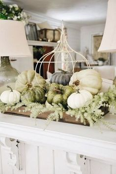 It's the start of fall decor here at White Cottage Farm! It's so bitter sweet. I remember a blog post last year that I wrote [HERE] that I will elaborate again on later, but it was basically all about how the changing of the seasons are a little sting on my infertility journey because each …