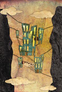 città invisibili calvino Invisible Cities, Portfolio, Illustration Art, Illustrations, Concept Art, Watercolor, Landscape, Drawings, Photography