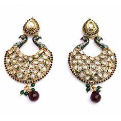 Aaishwarya Gorgeous Peacock Earrings  #earrings #peacockearrings #chandelierearrings