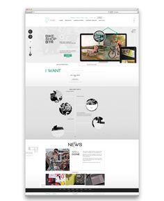 Agency by Piotr Kazmierczak, via Behance Ui Ux Design, Clean Design, Layout Design, Portfolio Web Design, Web Inspiration, Site Web, Website, Behance, Trends