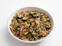 Spiced Quinoa with Zucchini recipe from Food Network Kitchen via Food Network