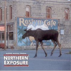 "Morty the Moose from ""Northern Exposure"""