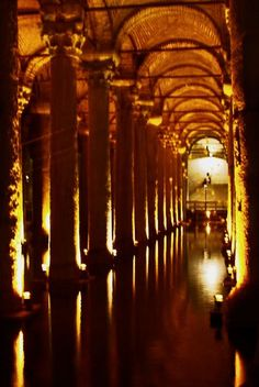 Istanbul Cistern Photo by Carlos Lagos -- National Geographic Your Shot