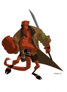character art from artist Sean Galloway