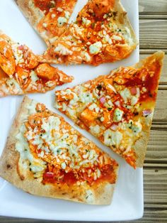 21 Day Fix Buffalo Chicken Pizza - Confessions of a Fit Foodie