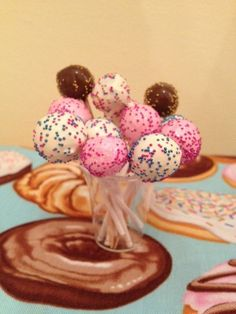 6 cake pops for your American Girl by lilyvictoria on Etsy, $8.00