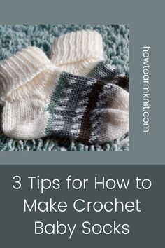 Come look at these awesome 3 Tips for How to Make Crochet Baby Socks These baby socks are so cute and fun to make! These crochet projects are just so awesome you are going to love it! #3TipsforHowtoMakeCrochetBabySocks #crochetbaby #babysocks #crochet #patterns Crochet Baby Socks, Free Crochet, Crochet Hats, Afghan Blanket, Knit Picks, Baby Skin, Sock Yarn, Cool Socks, Stitch Markers