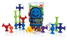 Squigz building toys for young boys! Squigz starter set is brilliant way to see how creative your boys and girls can be with these fabulous building toys from Fat Brain toys! Fun Awards, Kids Awards, Best Bath Toys, Best Kids Toys, Holiday Gift Guide, Holiday Gifts, Christmas Gifts, Christmas 2014, Amazon Christmas