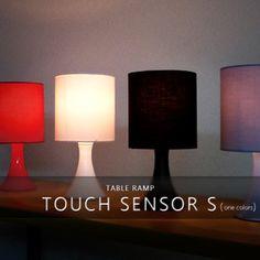 テーブルライト1灯タッチセンサーランプS【テーブルランプフロアライトフロアランプ間接照明照明器具照明北欧テイストシンプルインテリアおしゃれ】