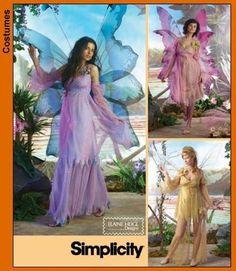 Diy Sewing Pattern-Simplicity 3632-Fairy Costume, Fairy Dress-Plus Size. $6.00, via Etsy.