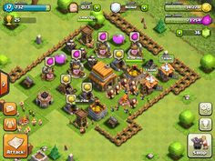 Gamification: Clash of Clans relies on 3 types of currency, donating troops, saving currencies for improvements and protecting that currency to spend on improving the town