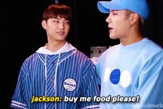 GOT7 JB Jackson gif I love Jackson so much