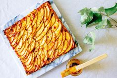 Jump to RecipeWhile I love creating beautiful cakes and darling confectionaries, it's simple, rustic desserts like this French apple tart that truly make me happy. It's the uncomplicated combination of butter, sugar, and fresh fruit that'll overwhelm your senses and reach the very deepest part of you. The sweet scent of sliced apples glazed with fig…