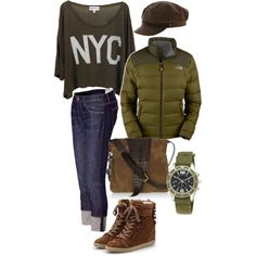 Collegecutie, created by polypopo on Polyvore