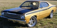 Click this image to show the full-size version. Dodge Duster, Plymouth Duster, Pontiac Gto, Chevrolet Camaro, 1966 Gto, Best Classic Cars, Street Racing, Mustang Cars, American Muscle Cars