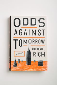 Good arrangement of typhography in here :) with spacing all /Nathaniel Rich - Odds Against Tomorrow.