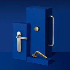 Multi-faceted door handles.