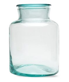 Loving this Medium Recycled Glass Canister on #zulily! #zulilyfinds