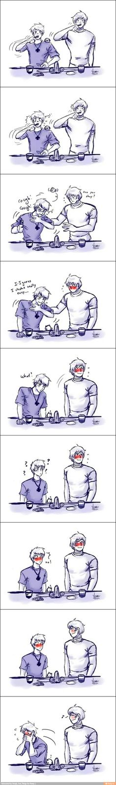 Prussia x Russia ((I don't understand...))<<< save the innocent one>>> It actually took me awhile to understand
