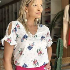Cute Dresses, Tops, Shoes, Jewelry & Clothing for Women Simple Fall Outfits, Best Casual Outfits, Fall Fashion Outfits, Casual Tops For Women, Blouses For Women, Autumn Fashion Grunge, Fancy Blouse Designs, Moda Chic, Denim Outfit