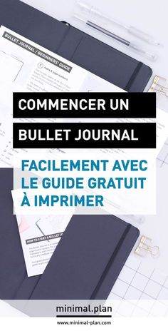 Free guide to start your own bullet journal quick & easy! This step by step tutorial is meant to help you start a bullet journal easily / start a bullet journal how to, how to start a bullet journal, bullet journal for beginners, beginners' guide to bulle Bullet Journal En Français, Bullet Journal For Beginners, Bullet Journal How To Start A, Bullet Journal Spread, Bullet Journals, Bujo, Blog Planner Printable, Planner Ideas, Journal Organization