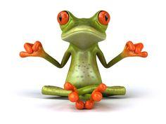 T-shirt blanc Homme coton bio Design Zen par Biosphereshop Full Hd Pictures, Cute Pictures, Desktop Pictures, Funny Frogs, Frog Design, 3d Character, Handmade Pottery, Wrapped Canvas, Digital Prints