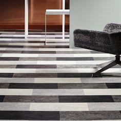 Marmoleum modular tiles give a great contrast. #instagram #design #styleblogger #interiordesign #floor #luxurytiles #contrast #home