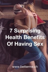 Read this article and discover 7 Health Benefits Of Having Sex !   Other articles and online counselling at http://www.betterme.ch/en/